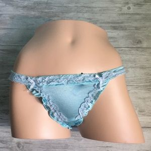 Silky Satin nylon liquid silk G-String panties